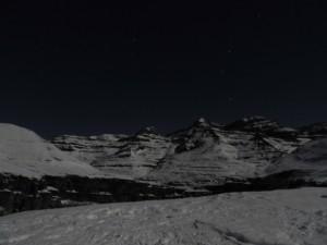 Ruta nocturna guiada a Cuello Gordo
